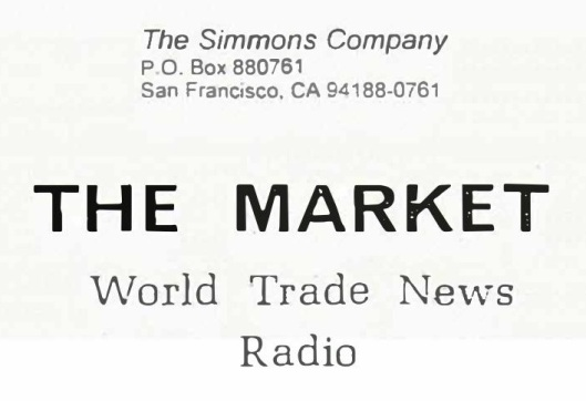 THE MARKET News Radio Logo